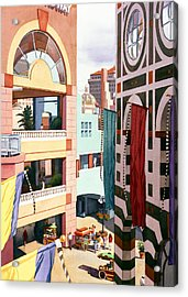 Horton Plaza San Diego Acrylic Print