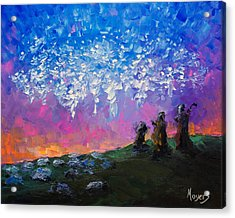 Host Of Angels Acrylic Print by Mike Moyers