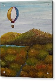 Hot Air Acrylic Print by Anthony Cavins