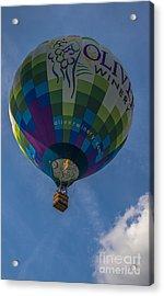Hot Air Balloon Ow Acrylic Print