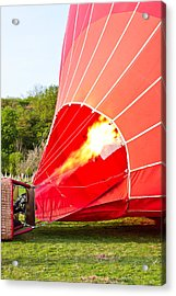 Hot Air Balloon Acrylic Print by Tom Gowanlock