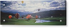Hot Air Balloons, Snowmass, Colorado Acrylic Print