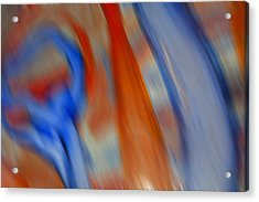 Hot And Cold Mixing Acrylic Print by Greg Kluempers