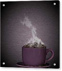 Acrylic Print featuring the photograph Hot Coffee by Gert Lavsen