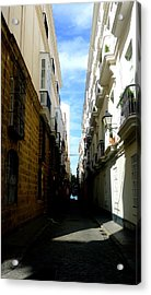 Hot Day In Cadiz Acrylic Print by Olga Breslav