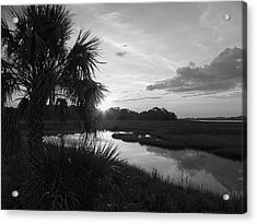 Hot June Sunrise I        Bw Acrylic Print