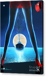 Hot Night Acrylic Print