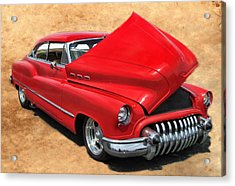 Hot Rod Buick Acrylic Print