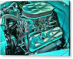 Hot Rod Engine Acrylic Print