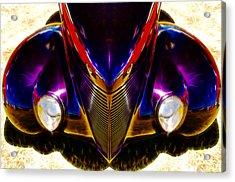 Hot Rod Eyes Acrylic Print by motography aka Phil Clark