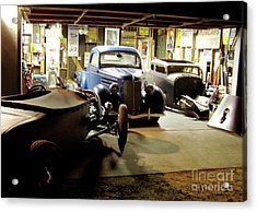Hot Rod Garage Acrylic Print