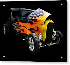 Acrylic Print featuring the photograph Hot Rod by Victor Montgomery
