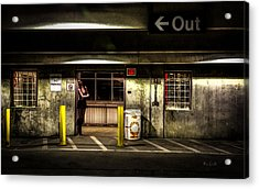 Hot Summer Night Out Acrylic Print by Bob Orsillo