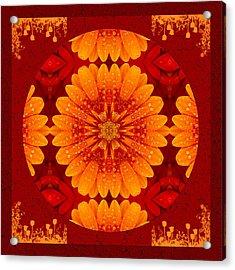 Hot Tropical Zen Acrylic Print
