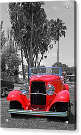 Acrylic Print featuring the photograph Hot V8 by Shoal Hollingsworth