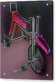 Hot Wheels Acrylic Print by Jack Adams
