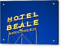 Hotel Beale Acrylic Print