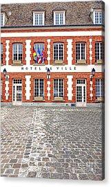 Hotel De Ville Acrylic Print