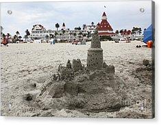 Hotel Del Coronado In Coronado California 5d24264 Acrylic Print by Wingsdomain Art and Photography