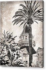 Acrylic Print featuring the photograph Hotel Del Coronado by Peggy Hughes