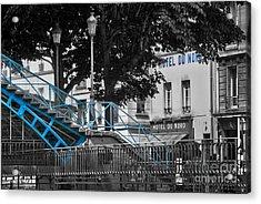Hotel Du Nord Acrylic Print