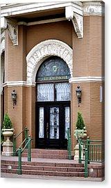 Hotel Door Entrance Acrylic Print