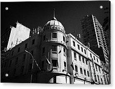 hotel espana Santiago Chile Acrylic Print by Joe Fox