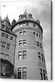 Hotel Frontenac Quebec City Acrylic Print