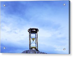 Hourglass Blue Sky Acrylic Print by Colin and Linda McKie