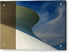 Hourglass Dome Cloud Swirl Acrylic Print