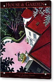 House And Garden Annual Building Number Cover Acrylic Print by Walter Buehr