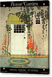 House And Garden Small House Number Cover Acrylic Print