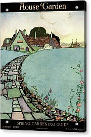 House And Garden Spring Garden Guide Acrylic Print