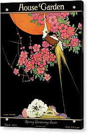 House And Garden Spring Gardening Guide Acrylic Print