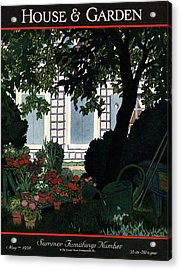 House And Garden Summer Furnishings Number Cover Acrylic Print