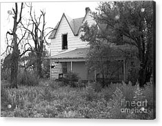 House At The End Of The Street Acrylic Print