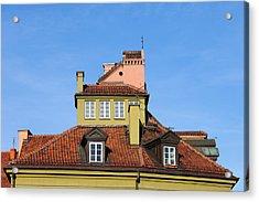 House Attic Acrylic Print by Artur Bogacki