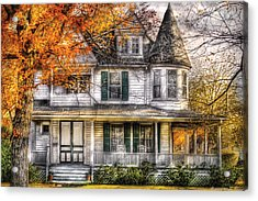 House - Classic Victorian Acrylic Print by Mike Savad
