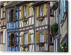 House, Colmar, Alsace, France Acrylic Print by Peter Adams