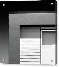 House Corner Acrylic Print by Dave Bowman