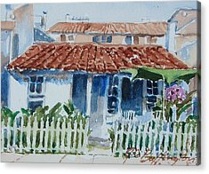 House For Tom Acrylic Print