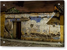 House In The Middle Acrylic Print by Christian Santizo