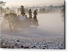 House In The Mist Acrylic Print