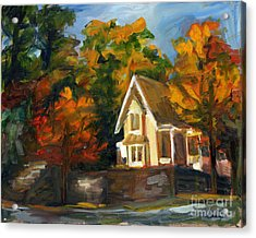 House In The Sun Acrylic Print by Jessica Cummings
