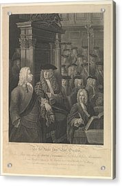 House Of Commons - Sir Robert Walpoles Acrylic Print