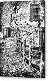 House Of Stone Acrylic Print by John Rizzuto