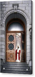 House Of The Lord Acrylic Print by Brent Borup