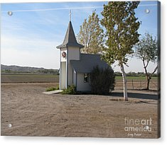 House Of The Lord Acrylic Print by Greg Patzer