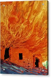 House On Fire Acrylic Print