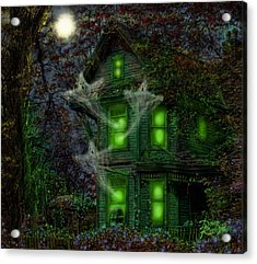 House On Haunted Hill Acrylic Print by Doug Kreuger